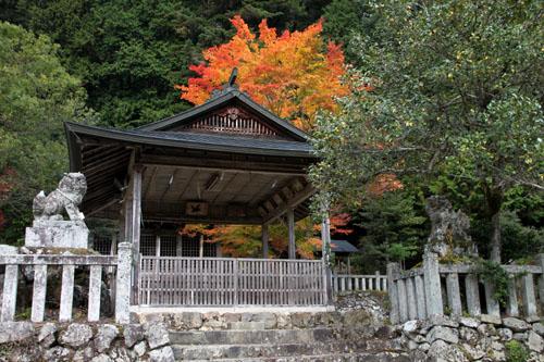 14紅葉めぐり 9 上弓削熊野神社_e0048413_2028671.jpg