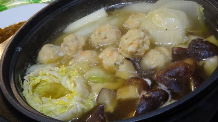 鶏団子鍋(11月14日分)_b0290816_14564719.jpg
