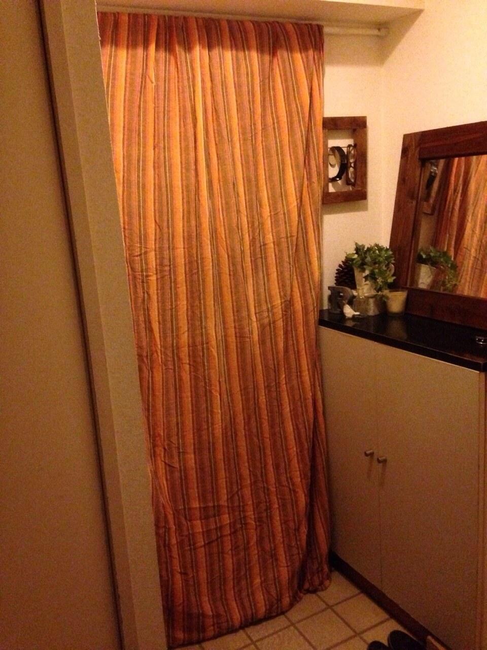 玄関の防寒対策情報いただきました Nico