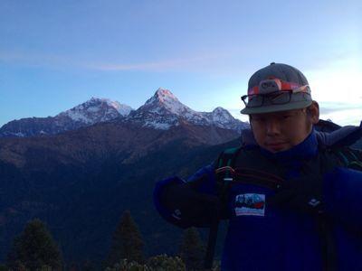 南部、ネパールの山林の中を歩くの巻_d0197762_11212937.jpg