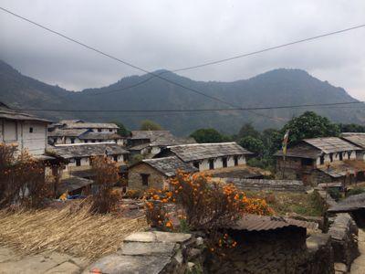 南部、ネパールの山林の中を歩くの巻_d0197762_11213810.jpg