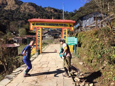 南部、ネパールの山林の中を歩くの巻_d0197762_1121868.jpg