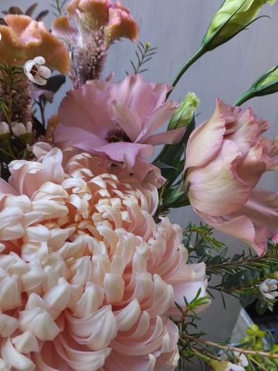 オークリーフ(菊のアレンジメント)_f0049672_17303017.jpg