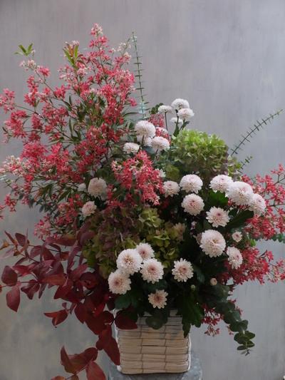 オークリーフ(菊のアレンジメント)_f0049672_17322522.jpg