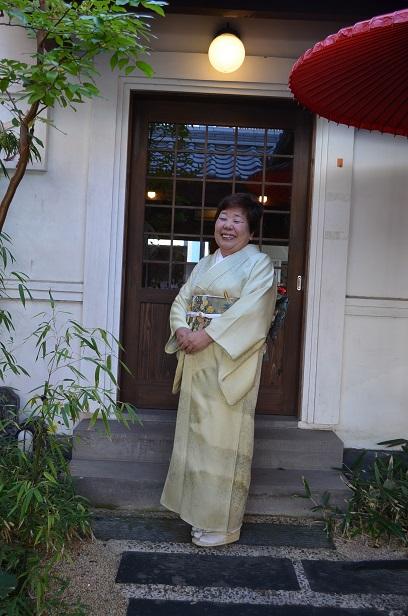 甥子さんの結婚式へ 北出与三郎の訪問着_d0230676_15331150.jpg