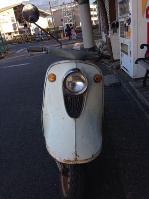 本日のバイク‼_f0194657_1543551.jpg
