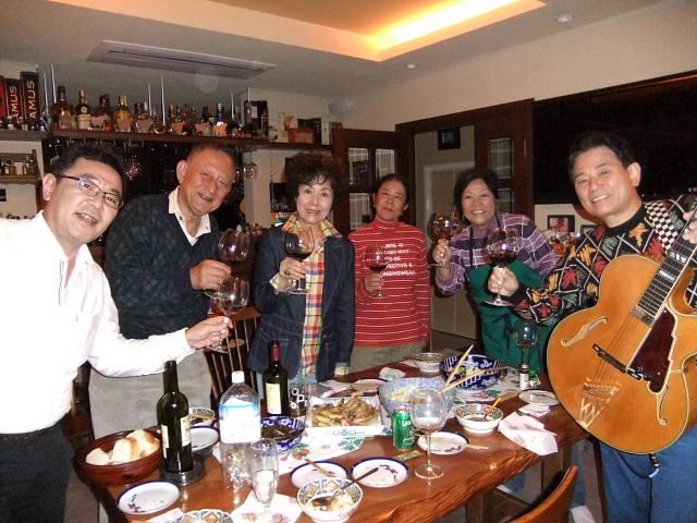 森さん宅でワインパーティーとライブ_e0119092_9581318.jpg