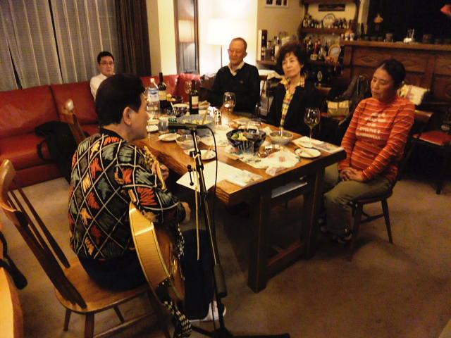 森さん宅でワインパーティーとライブ_e0119092_958573.jpg