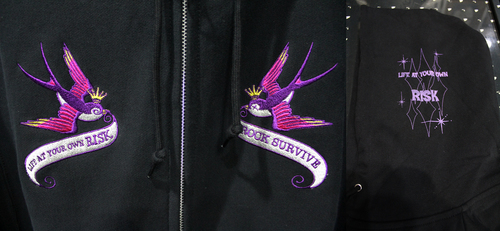 【SWALLOW ZIP PARKA】入荷_a0097901_12274845.jpg