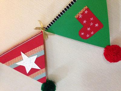 宿題のクリスマスガーランドとマスキングテープの事_f0327104_2241723.jpg