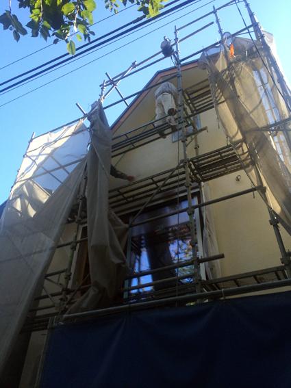 外壁ができていきます_a0148909_11551915.jpg