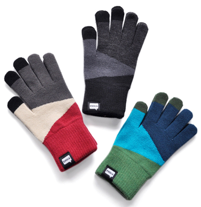 EVOLG is new wave touch panel knit glove !_d0193211_15362051.jpg