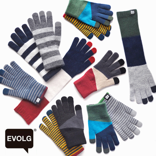 EVOLG is new wave touch panel knit glove !_d0193211_1539286.jpg