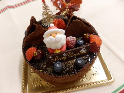 クリスマスケーキ2014_c0247818_19243017.jpg
