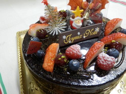 クリスマスケーキ2014_c0247818_19255179.jpg
