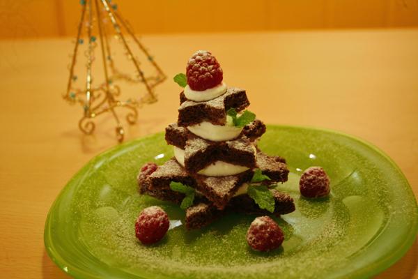 星ツリーのクリスマスケーキ♪_f0141419_07362654.jpg
