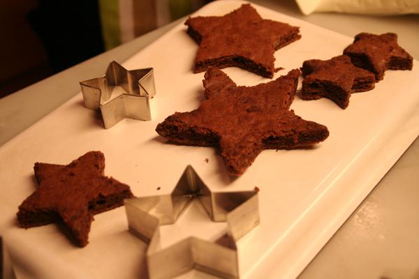 星ツリーのクリスマスケーキ♪_f0141419_07375905.jpg