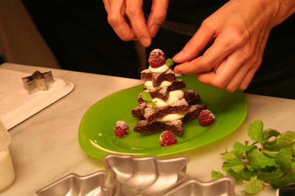 星ツリーのクリスマスケーキ♪_f0141419_07381137.jpg