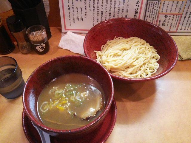 つけ麺@○寅麺屋山本流_a0117520_1443191.jpg