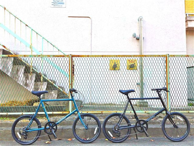 BRUNO 2015『Black Edition』MINIVELO 20 FLAT ミニベロ ブルーノ おしゃれ 女子 自転車_b0212032_10223022.jpg