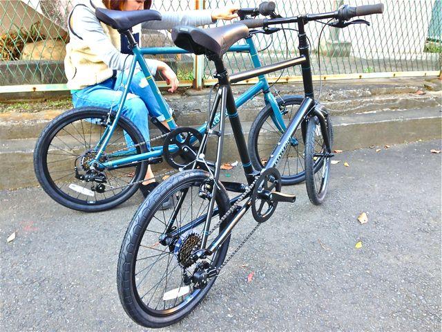 BRUNO 2015『Black Edition』MINIVELO 20 FLAT ミニベロ ブルーノ おしゃれ 女子 自転車_b0212032_10223982.jpg