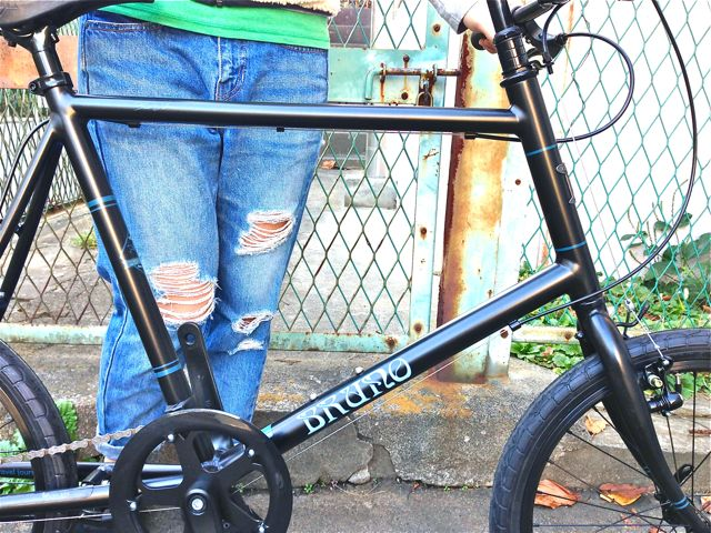 BRUNO 2015『Black Edition』MINIVELO 20 FLAT ミニベロ ブルーノ おしゃれ 女子 自転車_b0212032_10225218.jpg