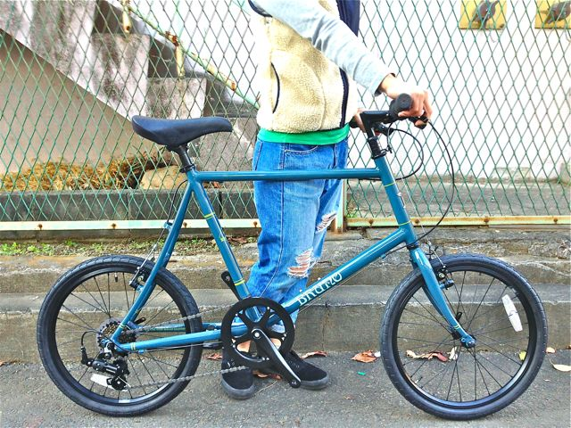 BRUNO 2015『Black Edition』MINIVELO 20 FLAT ミニベロ ブルーノ おしゃれ 女子 自転車_b0212032_10231991.jpg