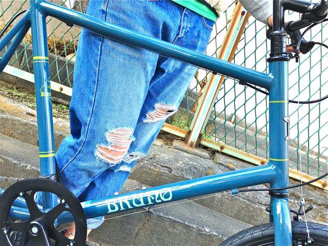 BRUNO 2015『Black Edition』MINIVELO 20 FLAT ミニベロ ブルーノ おしゃれ 女子 自転車_b0212032_10232745.jpg