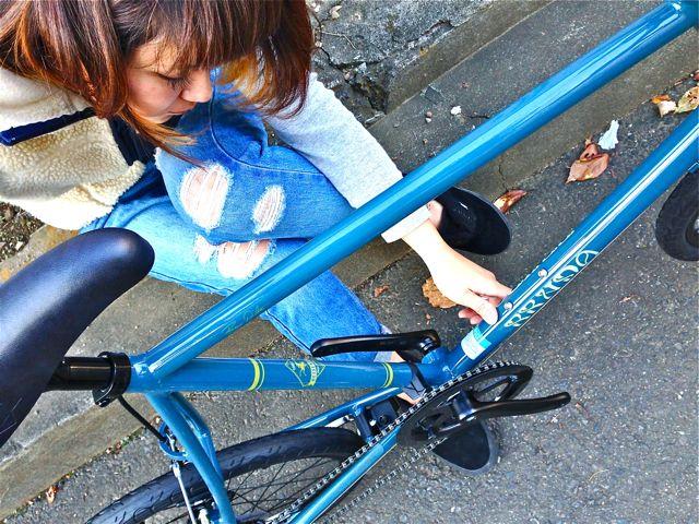 BRUNO 2015『Black Edition』MINIVELO 20 FLAT ミニベロ ブルーノ おしゃれ 女子 自転車_b0212032_10234127.jpg