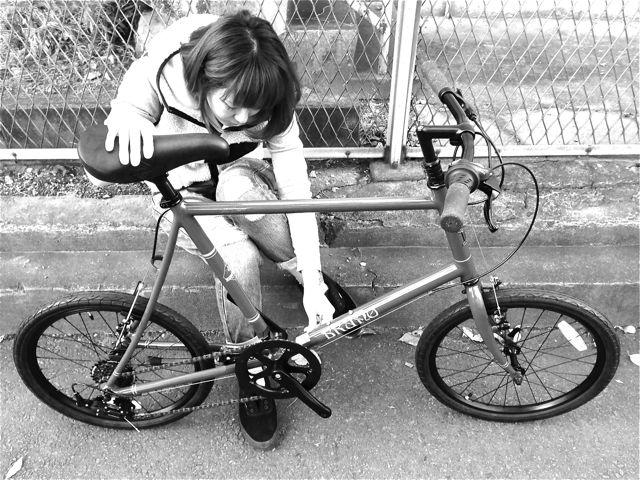 BRUNO 2015『Black Edition』MINIVELO 20 FLAT ミニベロ ブルーノ おしゃれ 女子 自転車_b0212032_10262933.jpg