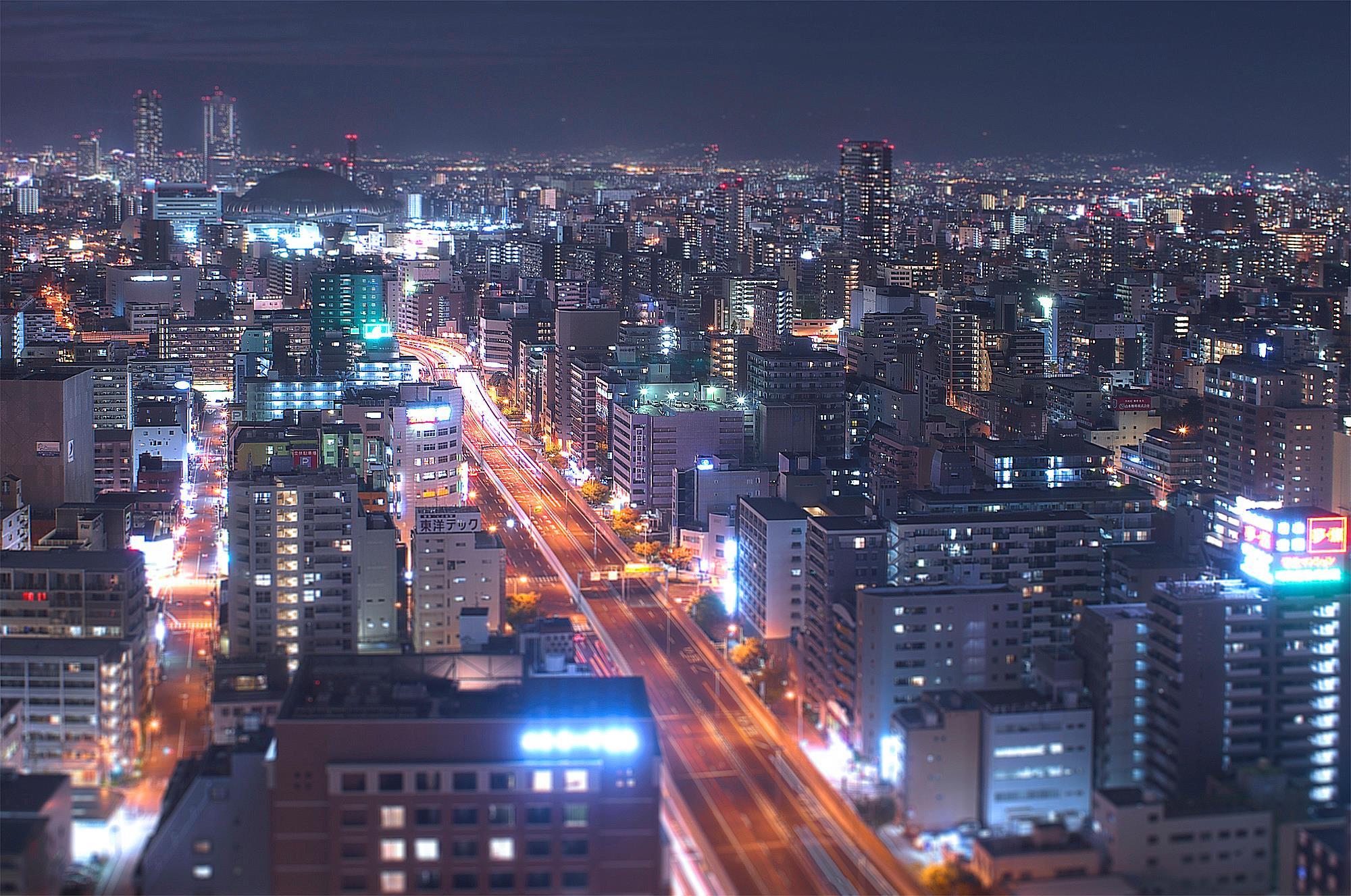 小学生以来の大阪の夜。_c0214542_2252266.jpg