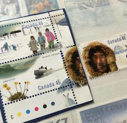 北極切手とクジラ切手(カナダ、1995年、2000年)_b0087556_18453968.png