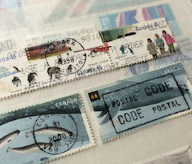 北極切手とクジラ切手(カナダ、1995年、2000年)_b0087556_18515887.png