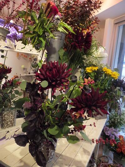 オークリーフ花の教室(田中さんの作品)_f0049672_17162414.jpg