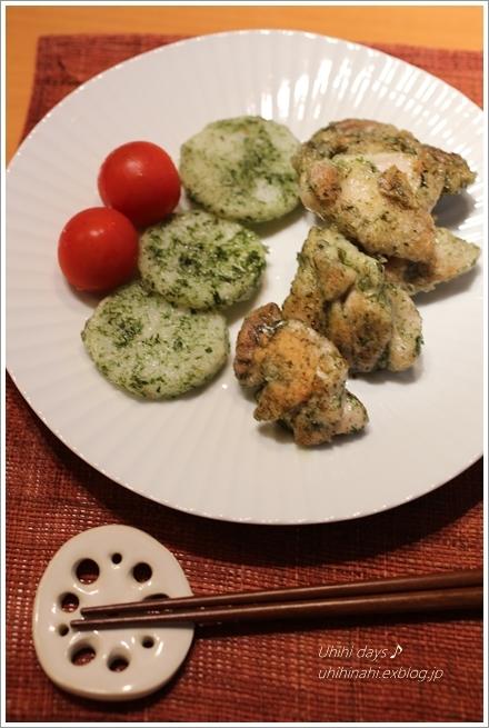 鶏と長芋の青海苔焼き_f0179404_211015.jpg