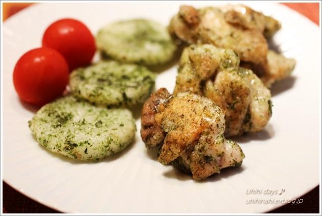 鶏と長芋の青海苔焼き_f0179404_2114157.jpg