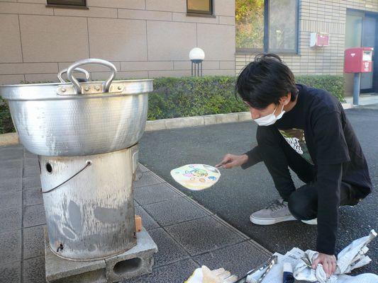 炊き出し訓練_a0154110_14353359.jpg
