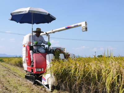 砂田米 来年も美味しいお米を育てるために!その2:れんげの種まきと転圧作業_a0254656_19424151.jpg