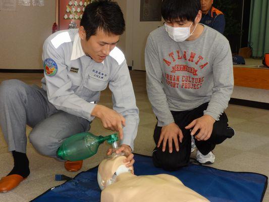AED訓練_a0154110_11404454.jpg