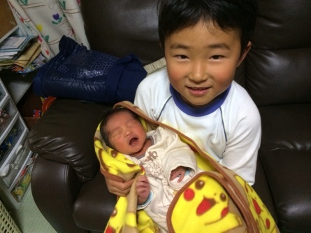 ご報告!三男誕生しました!_f0101226_17381869.jpg