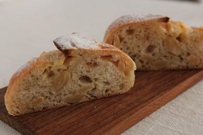 パン教室で「カシューナッツと3種のペッパー」と「フリカッセ」!_a0165538_10052329.jpg
