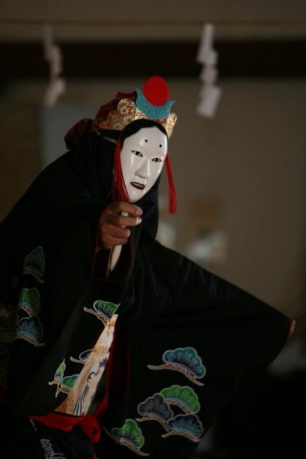 早池峰嶽流石鳩岡神楽 鐘巻舞_f0239346_18225537.jpg