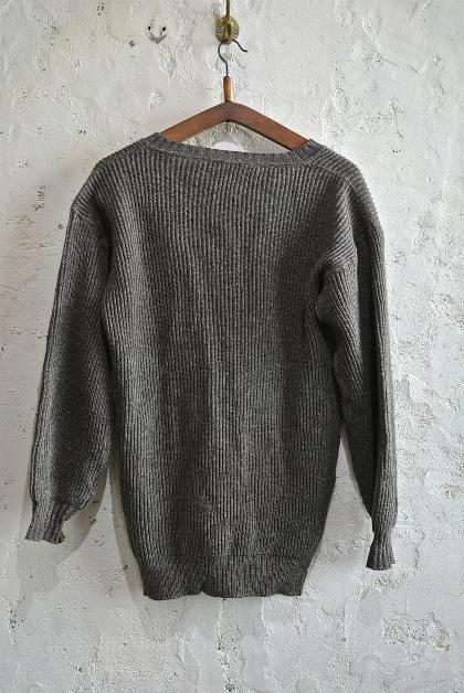Swedish army 40\'s v-neck knit_f0226051_13102373.jpg