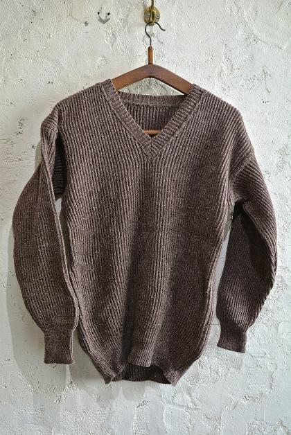 Swedish army 40\'s v-neck knit_f0226051_13133287.jpg