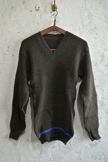 Swedish army 40\'s v-neck knit_f0226051_13142762.jpg
