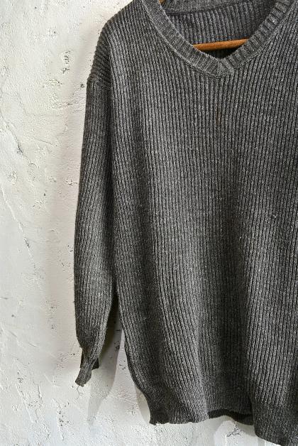 Swedish army 40\'s v-neck knit_f0226051_1351696.jpg