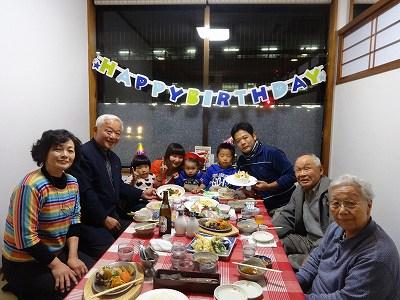 蓮太郎1歳誕生日    劇団ゆきぐに公演_f0019487_7514256.jpg