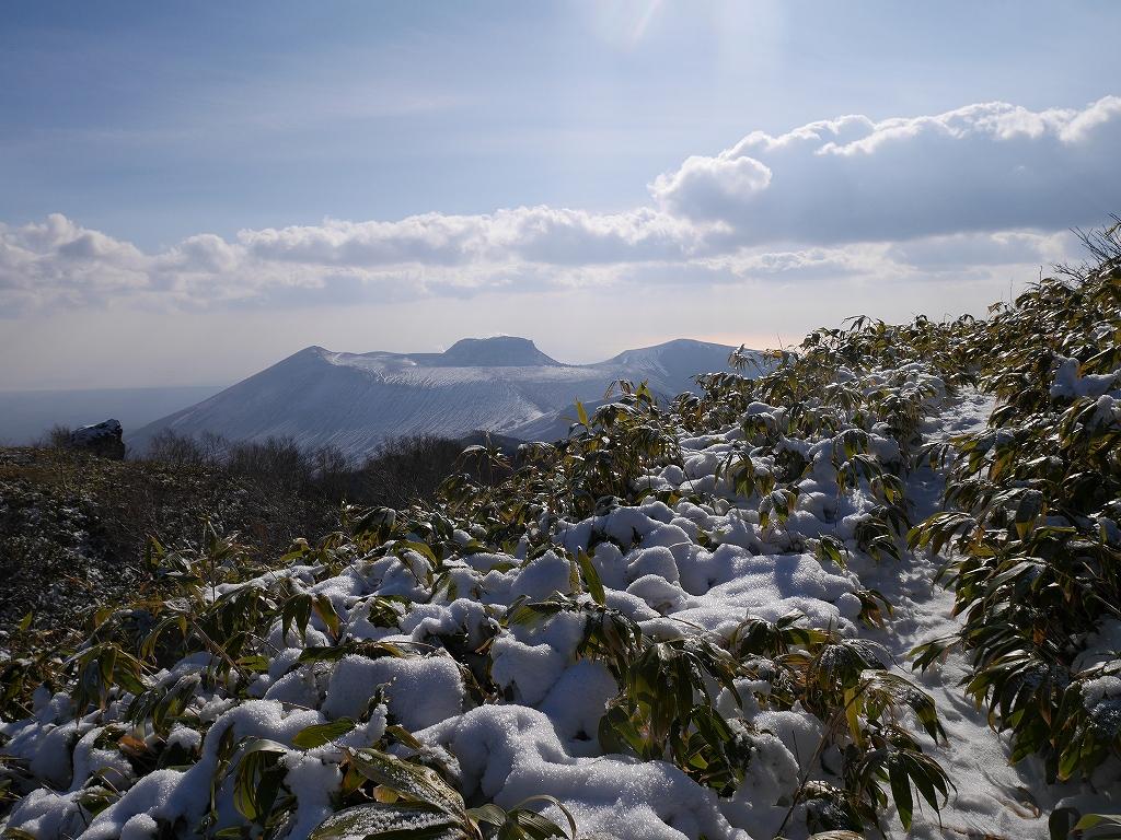 風不死岳北尾根、11月20日_f0138096_2223192.jpg