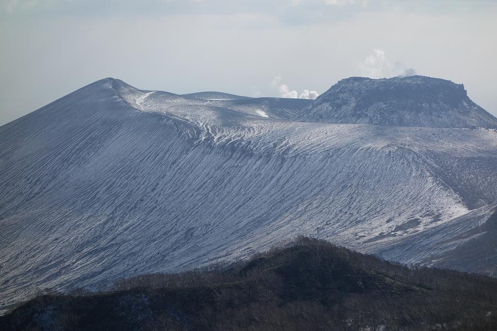 風不死岳北尾根、11月20日_f0138096_2225297.jpg