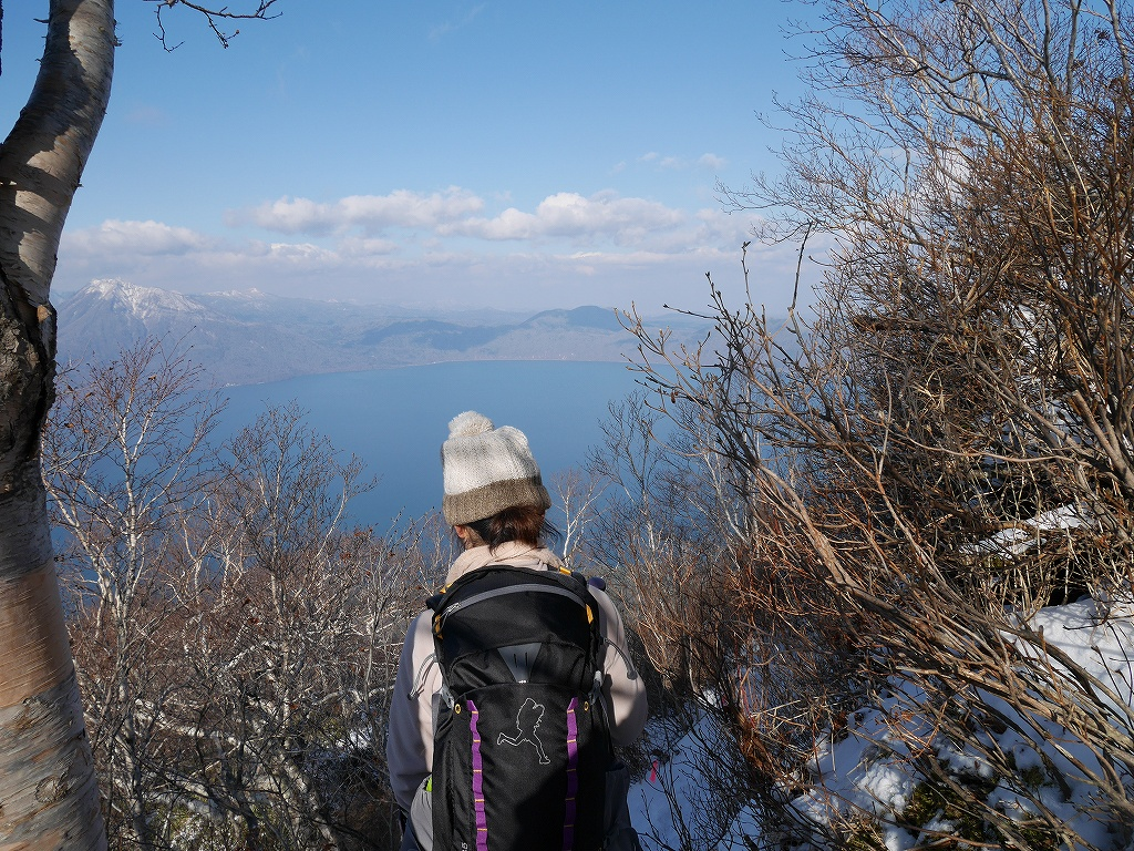 風不死岳北尾根、11月20日_f0138096_2234636.jpg